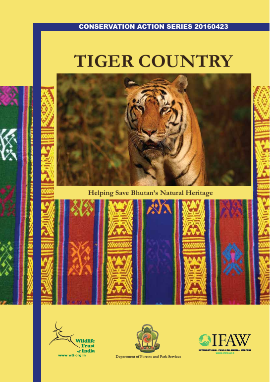 Ifaw tiger country bhutan report 2016